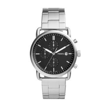 Fossil The Commuter Chronograph Stainless Steel Watch  Jewelry - Fs5399