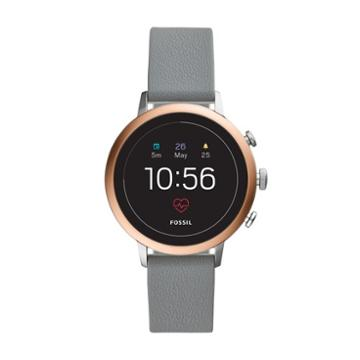 Fossil Gen 4 Smartwatch - Q Venture Hr Gray Leather   - Ftw6016