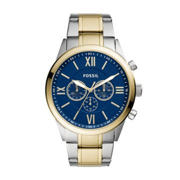 Fossil Flynn Chronograph Two-tone Stainless Steel Watch  Jewelry - Bq2407