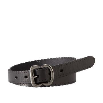 Fossil Scallop Jean Belt  Accessory Black- Bt4028001m