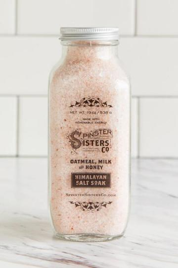 Francesca Inchess Spinster Sisters Co. Himalayan Salt Soak