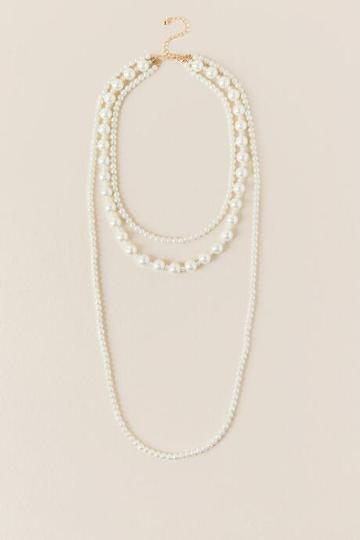 Francesca Inchess Leighton Layered Pearl Necklace - Pearl