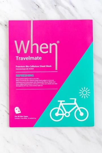 Francesca's When Travelmate Mask - Pink