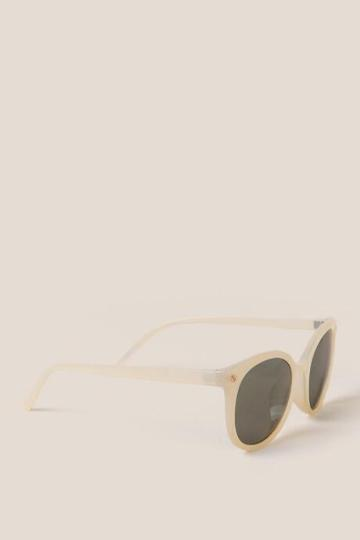 Francesca's Short List Sunglasses - Yellow
