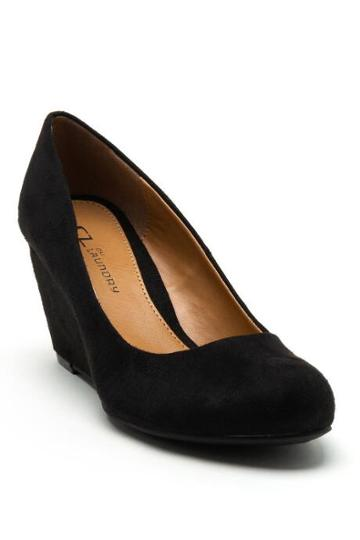 Cl By Laundry Nima Wedge - Black
