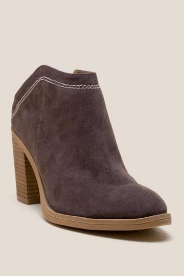 Dv By Dolce Vita Judges Heeled Mule - Gray