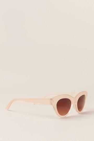 Francesca's Amelia Blush Sunglasses - Blush