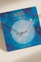 Francesca's Taurus Sterling Silver Constellation Necklace - Silver