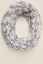 Francesca's Hailey Yarn Loop Scarf - Gray