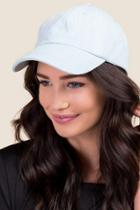 Francesca's Nia Denim Baseball Cap - Light Blue