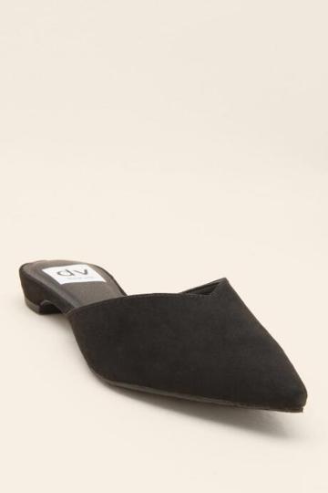 Dv By Dolce Vita Alert Pointed Toe Mule - Black