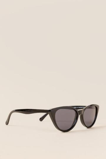 Francesca's Sally Cat Eye Sunglasses - Black