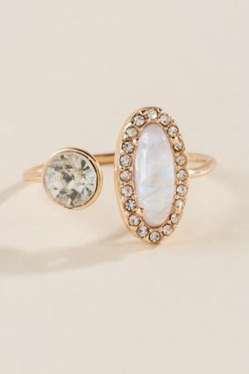 Francesca Inchess Norah Opal Wrap Ring - Iridescent