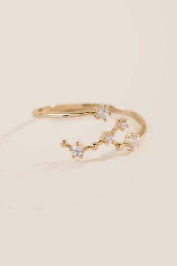 Francesca's Virgo Zodiac Ring - Gold