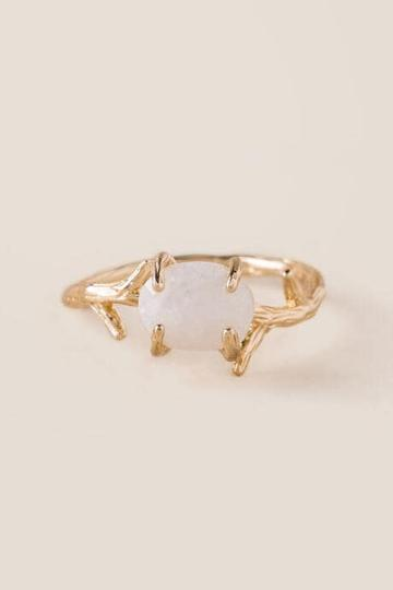 Francesca's Aliyah Branch Ring - Gold