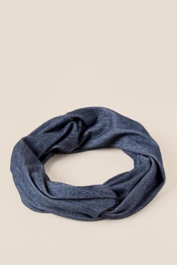 Francesca's Claire Twist Front Softwrap - Blue