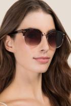 Francesca's Airdale New Classic Sunglasses - Tortoise
