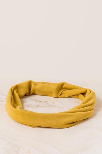 Francesca's Gabriella Solid Softwrap - Marigold