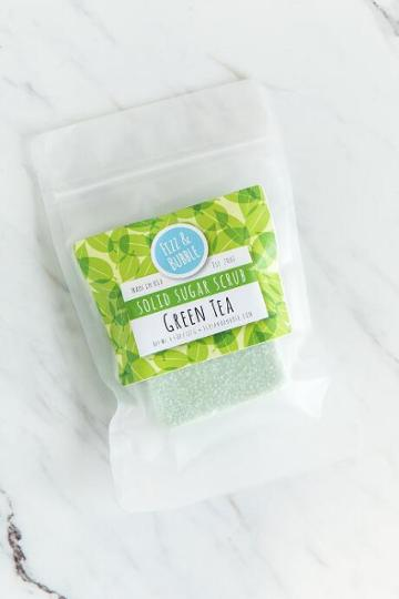 Francesca Inchess Green Tea Solid Sugar Scrub