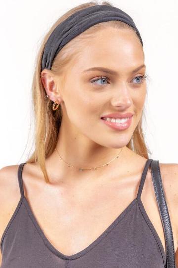 Francesca's Gabriella Solid Softwrap - Black