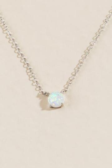 Francesca's Ilianna Opal Pendant - Iridescent