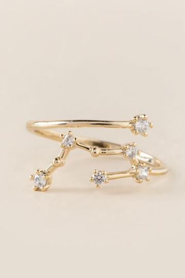 Francesca's Taurus Zodiac Ring - Gold