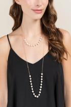 Francesca Inchess Ophelia Layered Pearl Necklace - Pearl