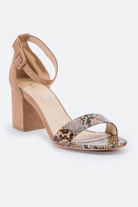 Cl By Laundry Cl By Chinese Laundry Jody Snake Block Heel - Snake