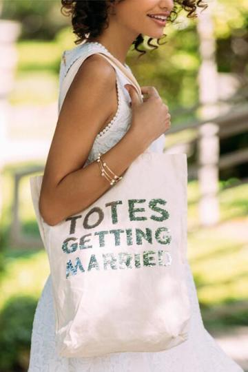 Francescas Totes Getting Married Tote - Natural