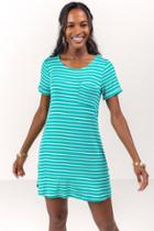 Francesca's Norine Pocket Tshirt Dress - Mint