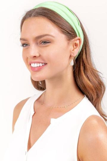 Francesca's Gabriella Solid Softwrap - Neon Green