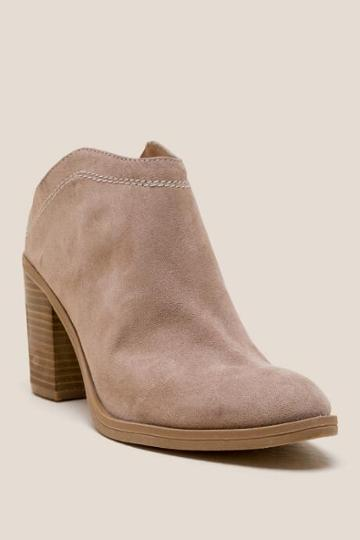 Dv By Dolce Vita Judges Heeled Mule - Taupe