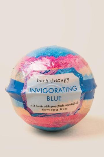 Francesca Inchess Invigorating Blue Bath Bomb