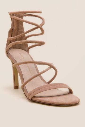 Chinese Laundry Sheena Strappy Heel - Nude