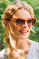 Francesca's Avery Tortoise Sunglasses - Tortoise