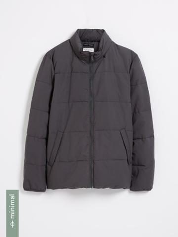 Frank + Oak Cyclone Packable Puffer With Recycled Thinsulate In Grey