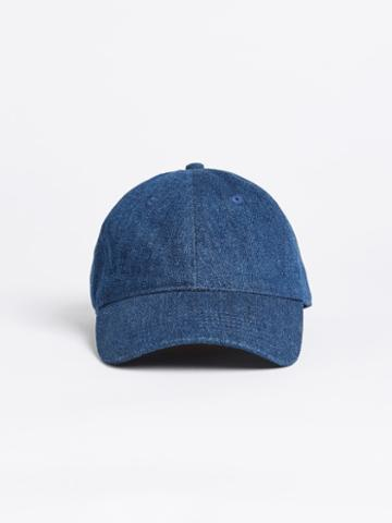 Frank + Oak Denim Dad Cap - Indigo