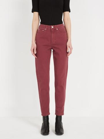 Frank + Oak The Stevie Tapered-fit Jean - Roan Rouge
