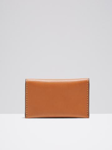 Frank + Oak Leather Bifold Wallet In Tan