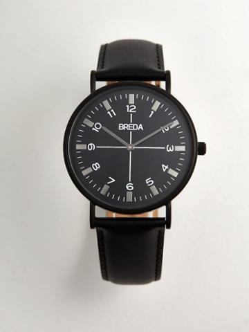 Frank + Oak Breda Watch - Belmont In Black/black