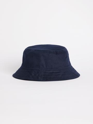 Frank + Oak Washed Cotton Bucket Hat In Dark Navy