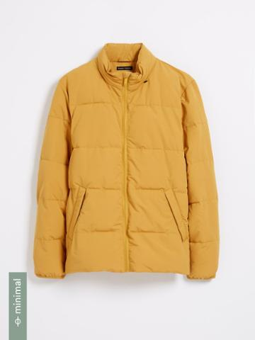 Frank + Oak Cyclone Packable Puffer With Recycled Thinsulate In Yellow