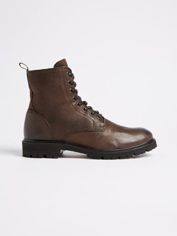 Frank + Oak Vibram Outsole Lined Winter Boot - Brown
