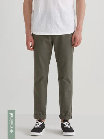 Frank + Oak The Newport Recycled Hemp Chino In Sage Mix