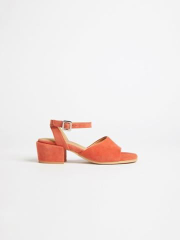 Frank + Oak The Medina Heel Sandal In Brown