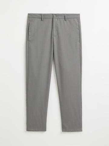 Frank + Oak The Granville Tapered-fit Pant In Grey