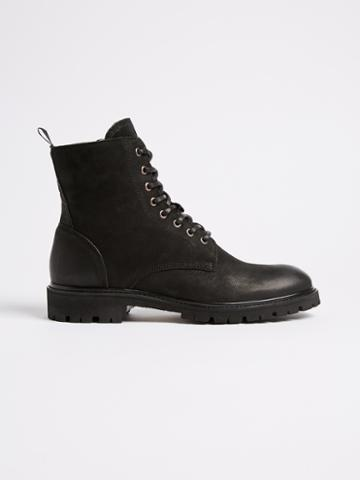 Frank + Oak Vibram Outsole Lined Winter Boot - Black