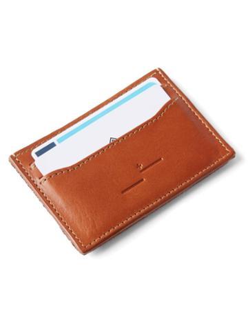 Frank + Oak Leather Card Holder In Cognac