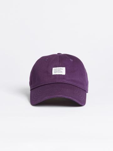 Frank + Oak Washed Cotton Dad Cap - Purple