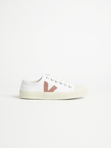Frank + Oak Veja Wata Sneaker In Off White